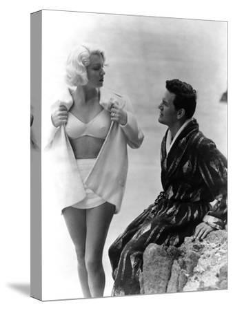 The Postman Always Rings Twice, Lana Turner, John Garfield, 1946--Stretched Canvas Print