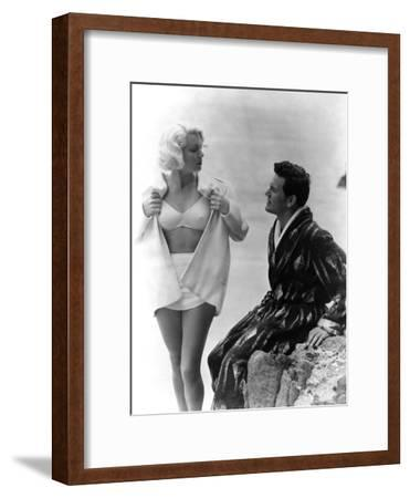 The Postman Always Rings Twice, Lana Turner, John Garfield, 1946--Framed Photo