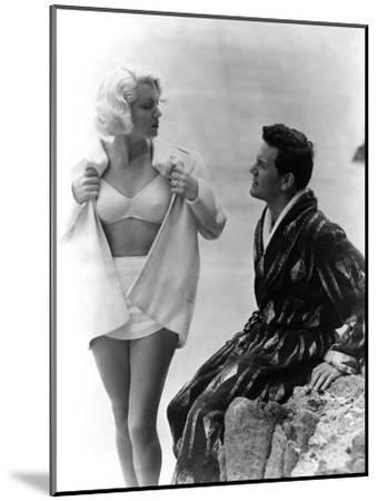 The Postman Always Rings Twice, Lana Turner, John Garfield, 1946--Mounted Photo