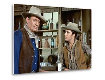 Rio Bravo, John Wayne, Ricky Nelson, 1959--Metal Print