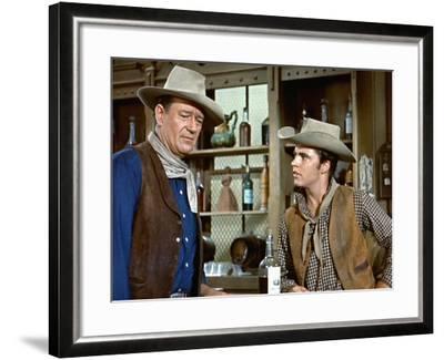 Rio Bravo, John Wayne, Ricky Nelson, 1959--Framed Photo