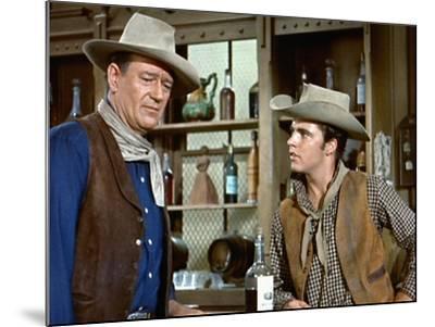 Rio Bravo, John Wayne, Ricky Nelson, 1959--Mounted Photo