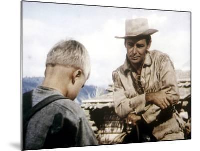 Shane, Brandon De Wilde, Alan Ladd, 1953--Mounted Photo