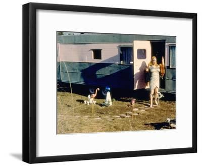 Pink Flamingos, Divine, 1972--Framed Photo