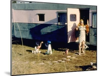Pink Flamingos, Divine, 1972--Mounted Photo