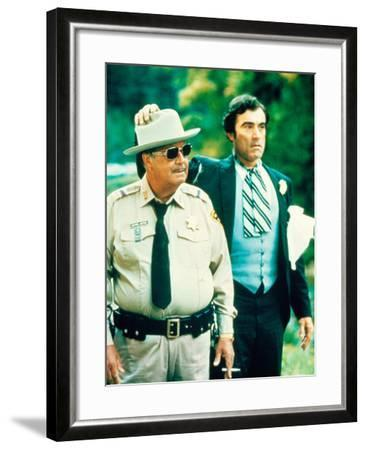 Smokey And The Bandit, Jackie Gleason, Mike Henry, 1977--Framed Photo