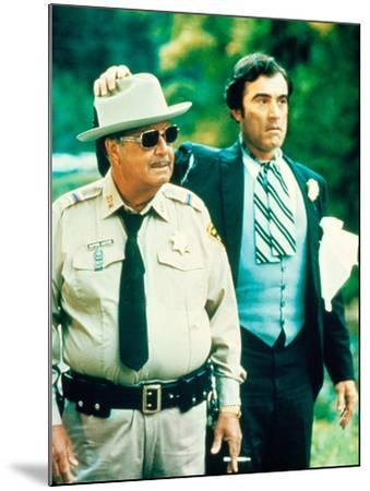 Smokey And The Bandit, Jackie Gleason, Mike Henry, 1977--Mounted Photo