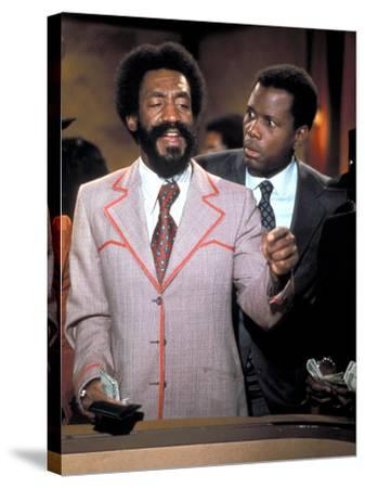 Uptown Saturday Night, Bill Cosby, Sidney Poitier, 1974--Stretched Canvas Print