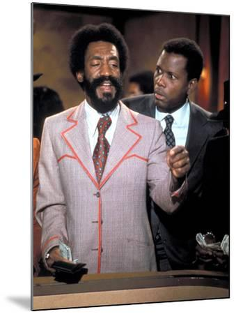 Uptown Saturday Night, Bill Cosby, Sidney Poitier, 1974--Mounted Photo