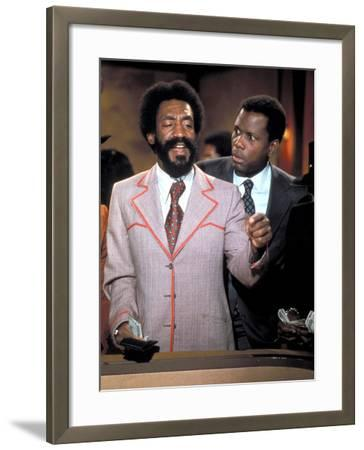Uptown Saturday Night, Bill Cosby, Sidney Poitier, 1974--Framed Photo