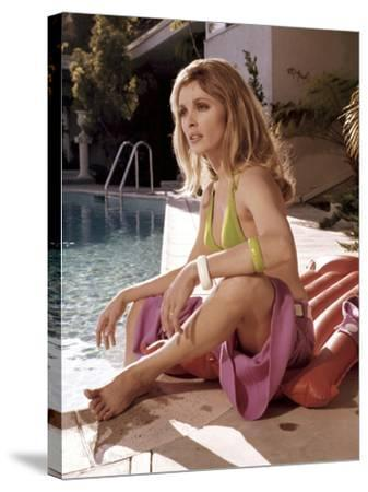 Valley Of The Dolls, Sharon Tate, 1967--Stretched Canvas Print