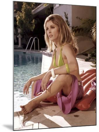 Valley Of The Dolls, Sharon Tate, 1967--Mounted Photo