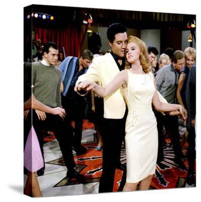 Viva Las Vegas, Elvis Presley, Ann-Margret, 1964--Stretched Canvas Print