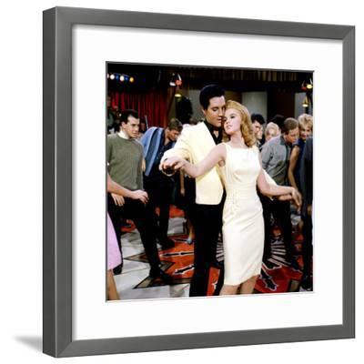 Viva Las Vegas, Elvis Presley, Ann-Margret, 1964--Framed Photo