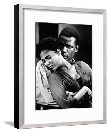Porgy And Bess, Sidney Poitier, Dorothy Dandridge, 1959--Framed Photo