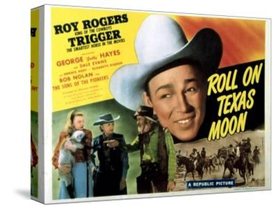 Roll On Texas Moon, Dale Evans, Elisabeth Risdon, Gabby Hayes, Roy Rogers, 1946--Stretched Canvas Print