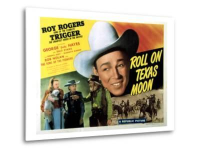 Roll On Texas Moon, Dale Evans, Elisabeth Risdon, Gabby Hayes, Roy Rogers, 1946--Metal Print