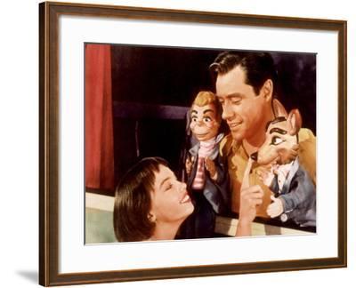 Lili, Leslie Caron, Mel Ferrer, 1953--Framed Photo