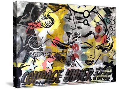 Courage Under Fire-Dan Monteavaro-Stretched Canvas Print