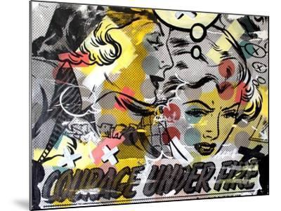 Courage Under Fire-Dan Monteavaro-Mounted Giclee Print