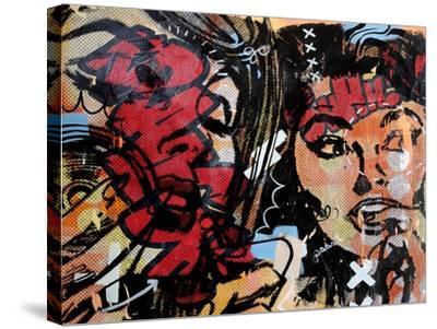 Loud Shhhh-Dan Monteavaro-Stretched Canvas Print