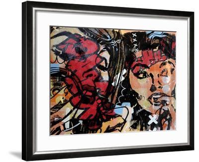 Loud Shhhh-Dan Monteavaro-Framed Giclee Print