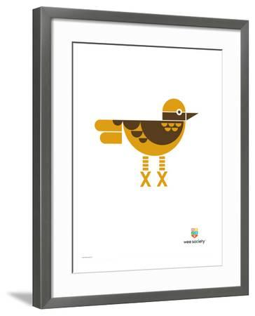 Wee Alphas, Xavier the Xenops-Wee Society-Framed Giclee Print