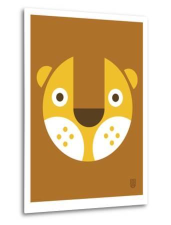 Wee Alphas Faces, Leo-Wee Society-Metal Print