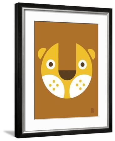 Wee Alphas Faces, Leo-Wee Society-Framed Giclee Print