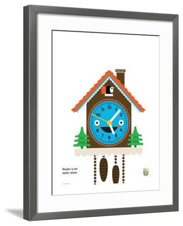 Wee You-Things, Kaiser-Wee Society-Framed Giclee Print