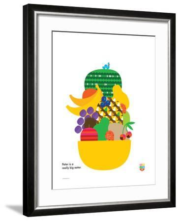 Wee You-Things, Peter-Wee Society-Framed Giclee Print