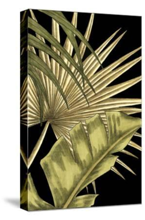 Rustic Tropical Leaves II-Ethan Harper-Stretched Canvas Print