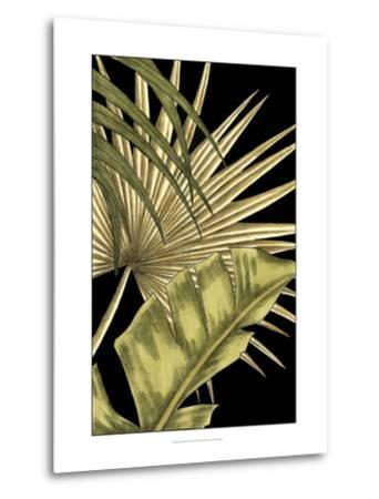 Rustic Tropical Leaves II-Ethan Harper-Metal Print