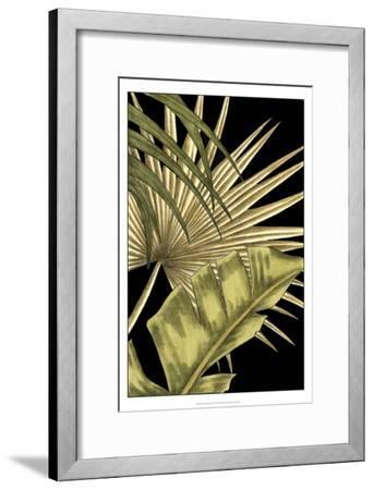 Rustic Tropical Leaves II-Ethan Harper-Framed Art Print