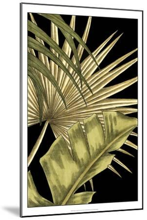 Rustic Tropical Leaves II-Ethan Harper-Mounted Art Print