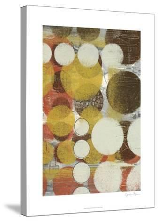 Orb Illusion I-Jennifer Goldberger-Stretched Canvas Print