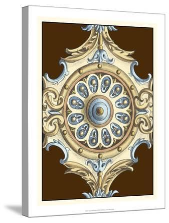 Ornamental Rosette II-Ethan Harper-Stretched Canvas Print