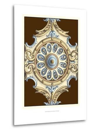 Ornamental Rosette II-Ethan Harper-Metal Print