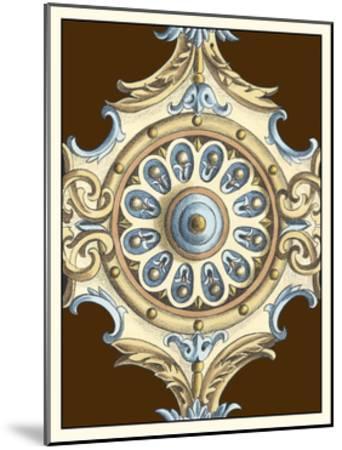 Ornamental Rosette II-Ethan Harper-Mounted Art Print