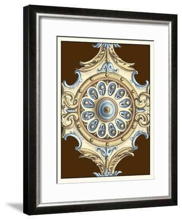 Ornamental Rosette II-Ethan Harper-Framed Art Print