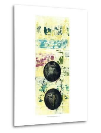 Retro Textures I-Jennifer Goldberger-Metal Print