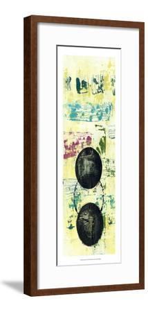 Retro Textures I-Jennifer Goldberger-Framed Art Print