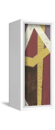 Parallelogram II-Jennifer Goldberger-Framed Stretched Canvas Print