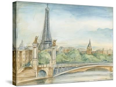 Parisian View-Ethan Harper-Stretched Canvas Print
