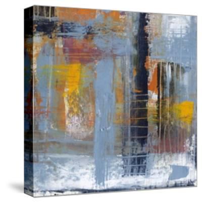 Urban Plan II-Jennifer Goldberger-Stretched Canvas Print