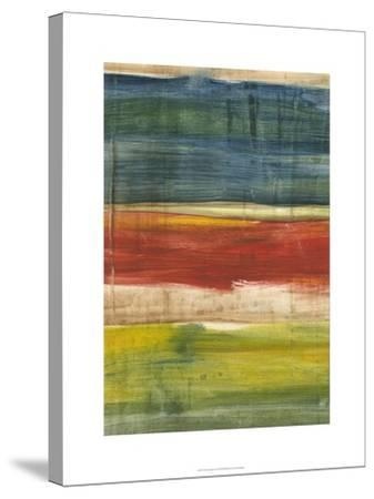 Vibrant Abstract I-Ethan Harper-Stretched Canvas Print