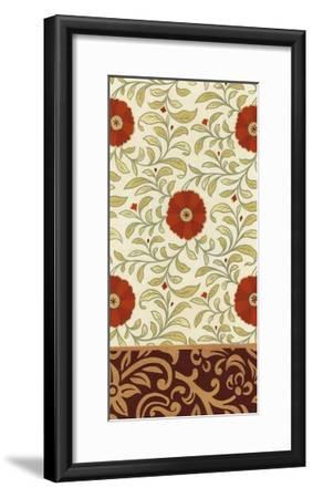 Non-Embellished Royal Palace Panel IV-Erica J^ Vess-Framed Art Print
