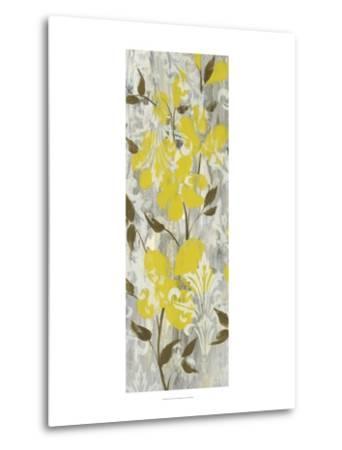 Buttercups on Grey I-Jennifer Goldberger-Metal Print
