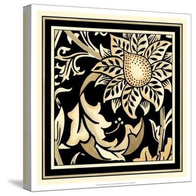 Neutral Floral Motif II-Vision Studio-Stretched Canvas Print