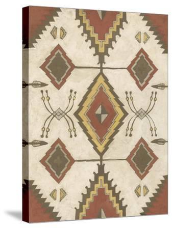 Non-Embellished Native Design I-Megan Meagher-Stretched Canvas Print